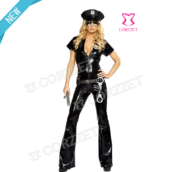 9305# Vinyl Officer Costume OEM
